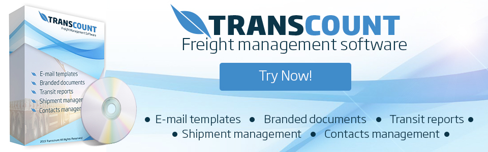 Transcount - freight forwarding software